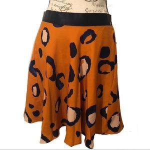 3.1 Phillip Lim x Target Leopard Print Full Skirt